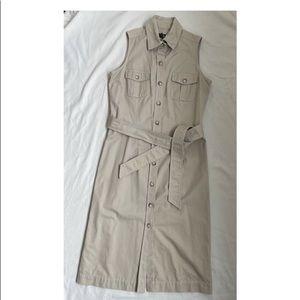 BANANA REPUBLIC ladies trench dress. US 8.